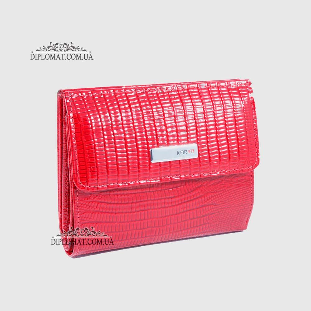Кошелек женский KARYA 1065 074 Лаковый Красный