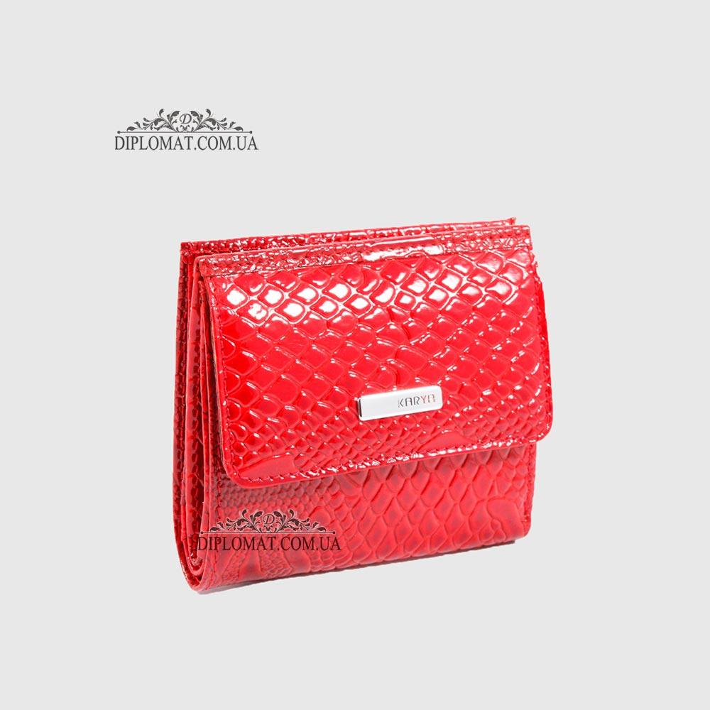 914441bc15c3 Купить Кошелек женский KARYA 1066 019 RED Lack в Diplomat | Недорого