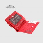 Кошелек женский KARYA 1066  019 RED Lack Красный/Розовый